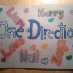 I love One Direction!!I made this picture!!