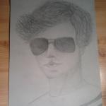 Én csináltam ezt a portrét Louisról! :)