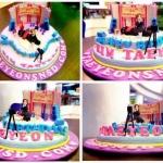 TaeYeon szülinapi tortája:)