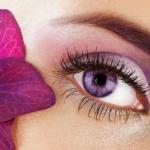 Lila szem