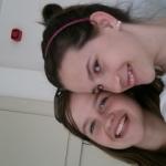 a barátnőm és én