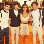 One Direction and Selena Gomez