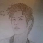 Első rajz Seungho oppa-ról :$