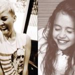 Miley most és régen