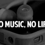 no music....
