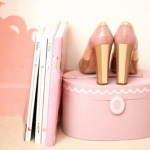 We Heart It via I Am Fashion Pink Beauty Case and Shoes.jpg