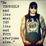 Be yourself!:)