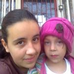 Húgommal :)