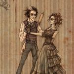 Mrs.Lovett and Sweeney