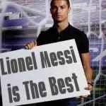 Ronaldo is megmondja :) Respect