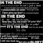 In The End BVB