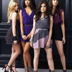Aria,Spencer,Hanna,Emily.