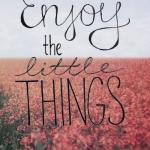 #enjoythelittlethings