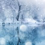 téli háttér