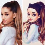 Ariana Grande with Painting.jpg